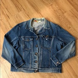 Rustler Vtg Jean Jacket For Women